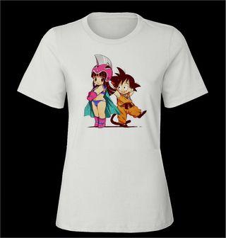 Camiseta goku dragonball nueva