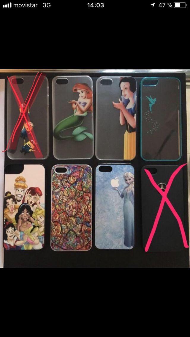 Carcasas iPhone 5, 5s y SE