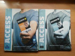 Libros de inglés 1° Bachillerato Access Longman