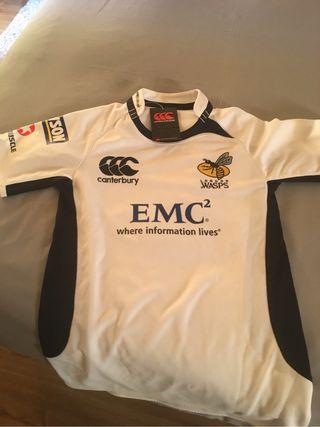 Camiseta rugby Wasps sin estrenar