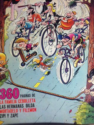 Comic Mortadelo y Filemon 360 páginas