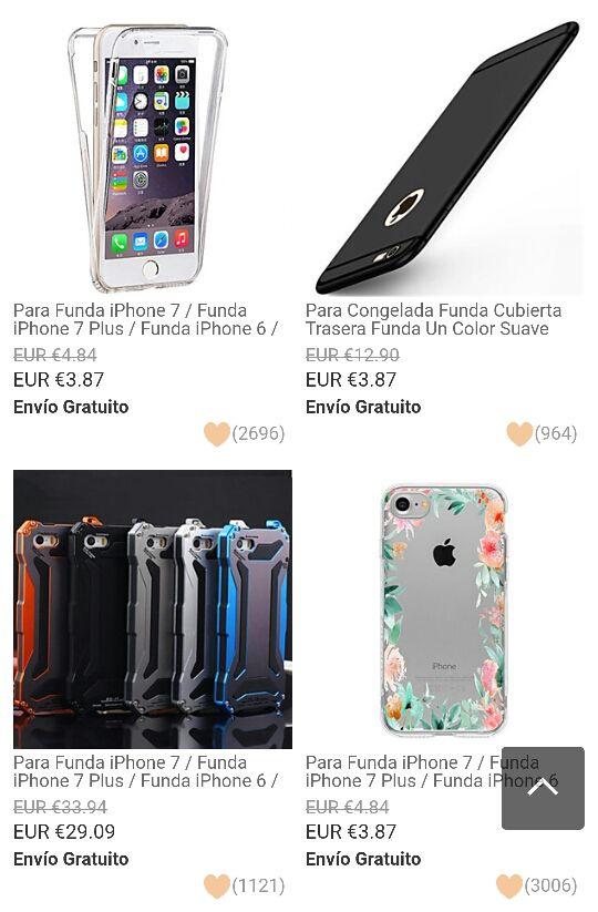 fundas para iphone 7 y 7 plus