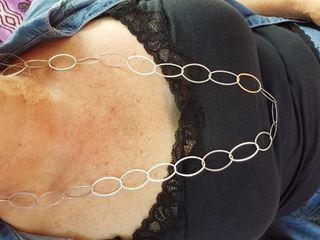 collar de plata de ley 925
