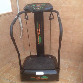 Maquina vibracion y ejercicios