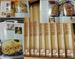coleccion de libros de cocina