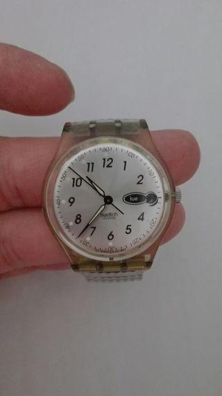 Mano Getafe Swatch Correa 35 De En Elastica € Reloj Segunda Por O0nN8wPkXZ