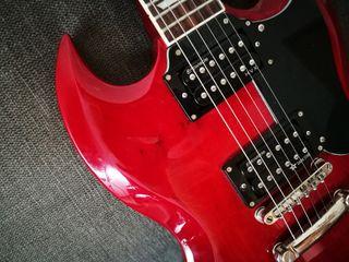 Guitarra eléctrica tipo gibson sg