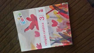 libro religion catolica nuevo kaire 3 primaria