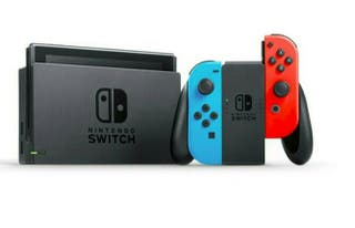 Nintendo switch roja y azul