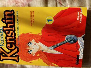 Manga comic Rurouni kenshin