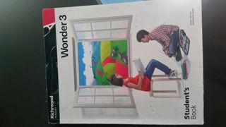 libro ingles wonder 3 student book 3 primaria