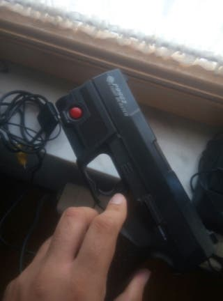 Pistola Time Crisis PS1