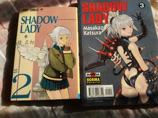 Manga comics shadow lady