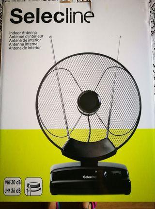 Antena parabolica de interior