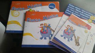 libro, cadernillo y cd siente la musia 3 primaria
