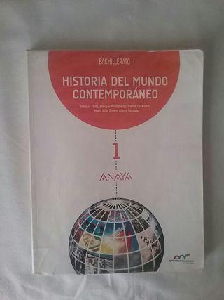 LIBROS 1 BACHILLERATO HISTORIA