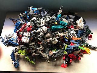 Lote piezas LEGO BIONICLE
