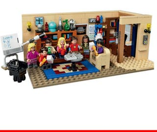 The Big Band Theory compatible Lego