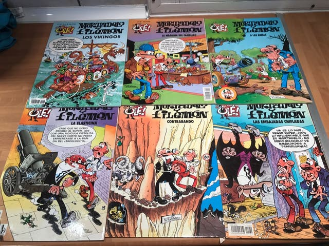 Comic mortadelo y filemon
