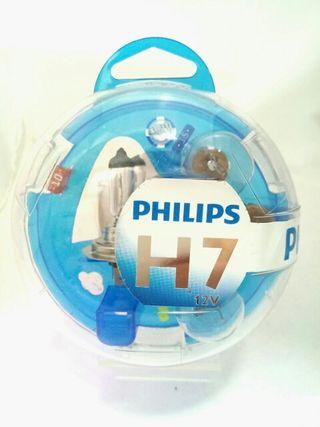Kit de lamparas PHILIPS H7
