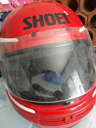 Casco de moto marca SOHEI, 59 cm., usado