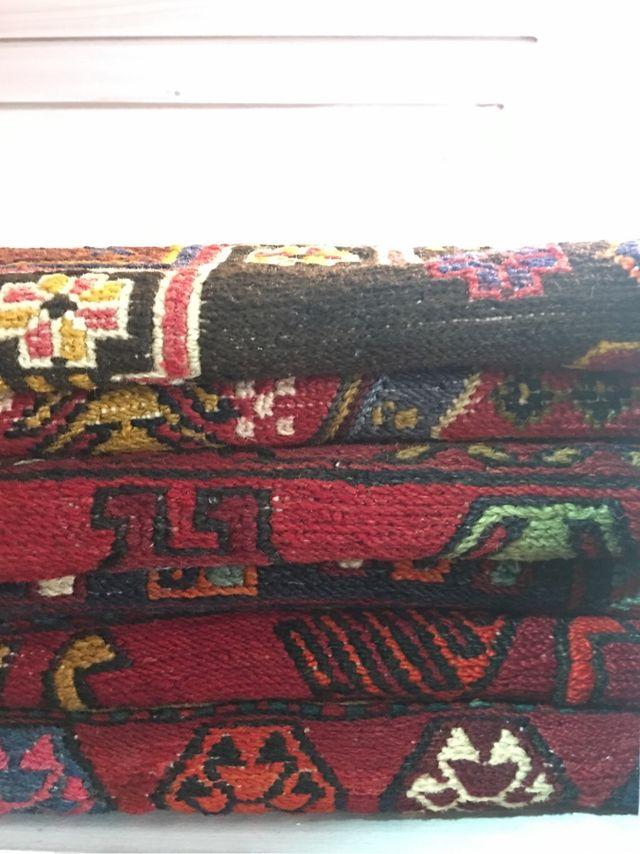 Alfombra kilim bordado Persa