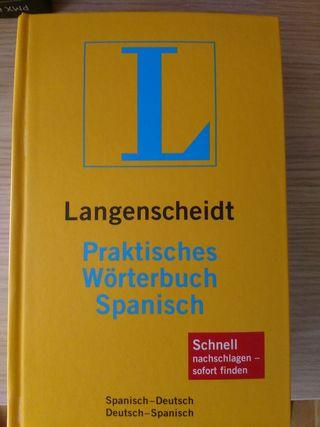diccionario conpleto español aleman y aleman españ