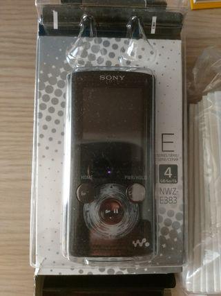 reproductor mp3 sony walkmanbde gran calidad