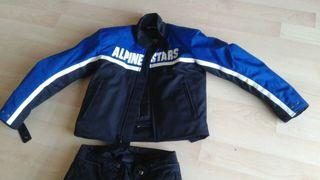 Chaqueta y pantalon moto Alpinestar
