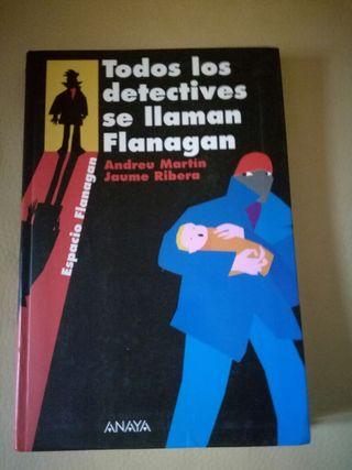 Libro Todos los detectives se llaman Flanagan