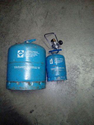 botellas campin gas