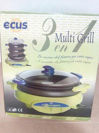 Multi grill Ecus 3 en 1
