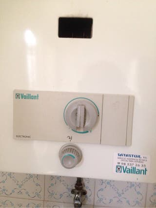 CALENTADOR GAS BUTANO VAILLANT ELECTRONIC