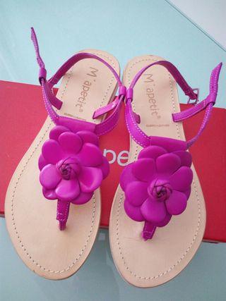 Sandalias nuevas...