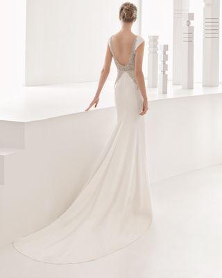 Vestido novia corto mallorca