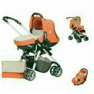 Carro bebé Jane, cuco, porta bebé, silla, saco...