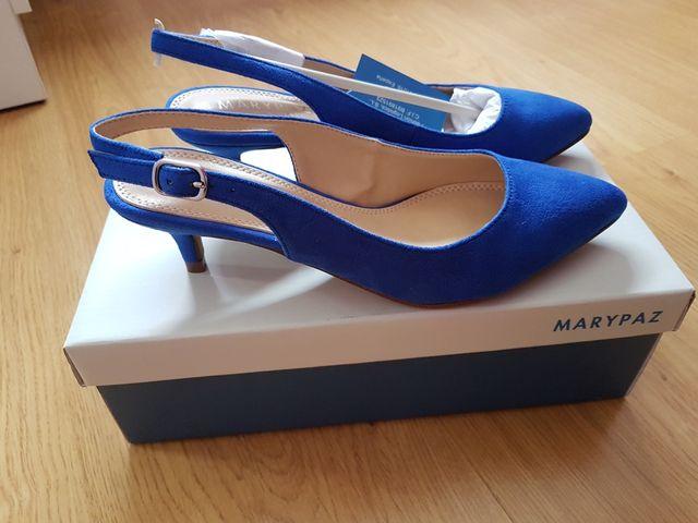 nuevo concepto 4105d 42d02 Zapatos marypaz a estrenar de segunda mano por 15 € en ...