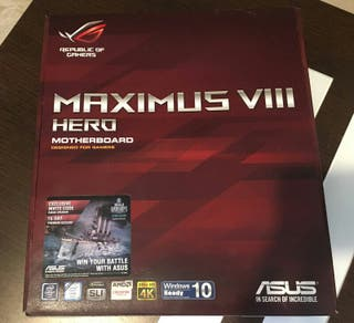 Placa base Asus ROG Maximus VIII Hero