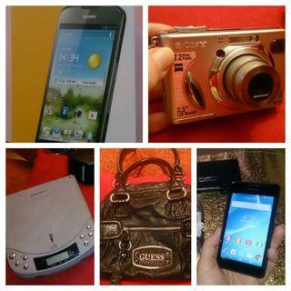 Móviles, gafas de sol, cámaras de fotos, bolsos...