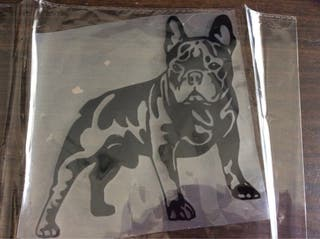 Pegatina bulldog