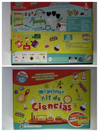Juguete educativo 1er kit de ciencias