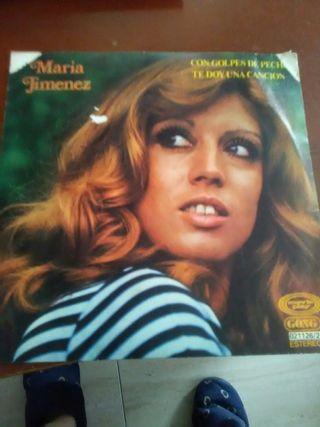 Disco vinilo single María Jiménez