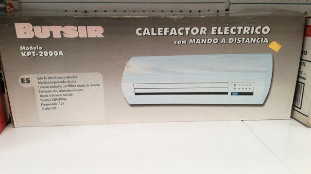 calefactor electrico con mando a distancia