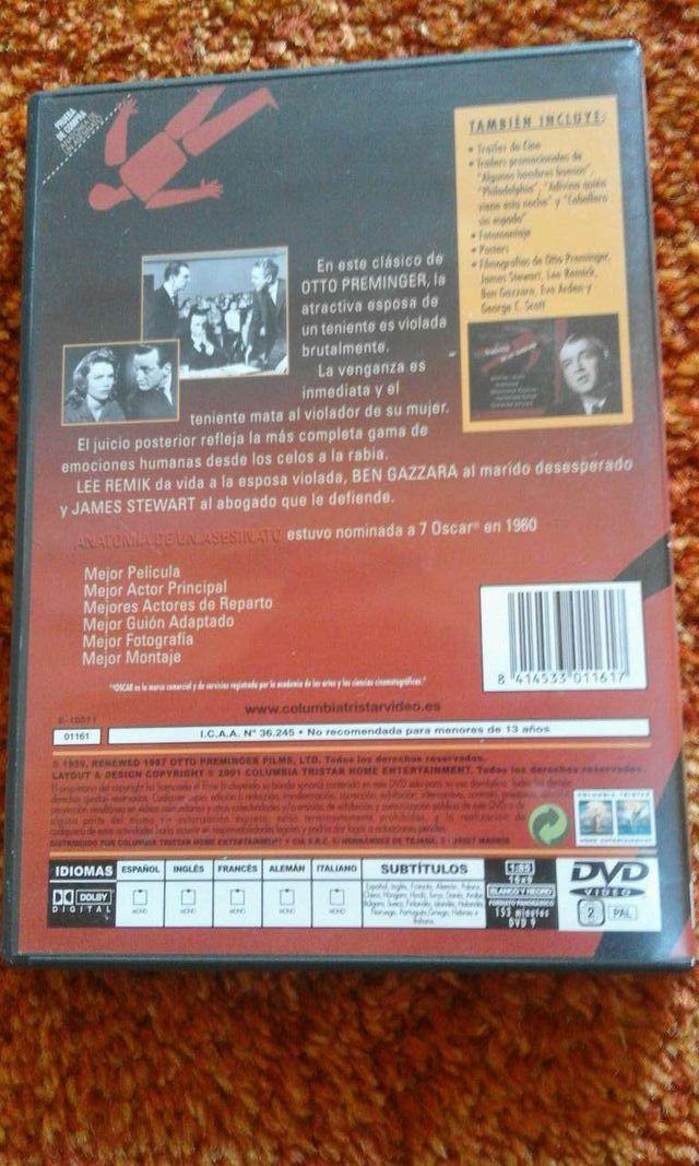 DVD Anatomía de un asesinato de segunda mano por 9 € en Vigo en WALLAPOP