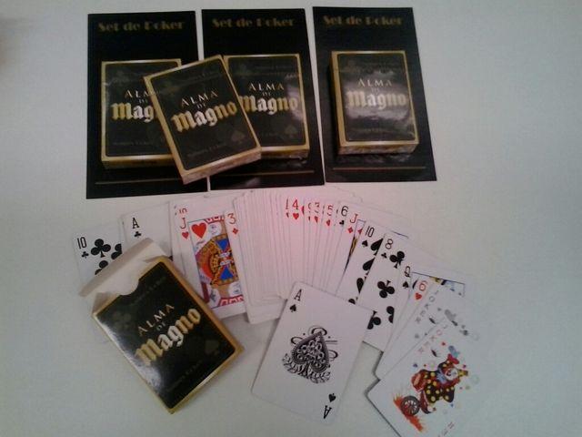 6 barajas de poker.