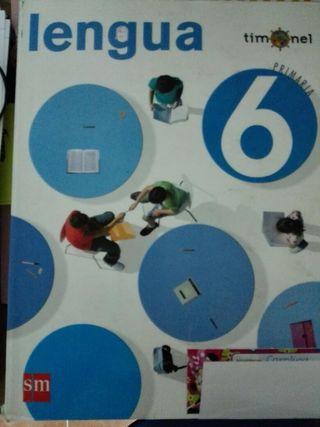 Libro Lengua 6° de primaria