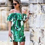 Vestido selva, talla L