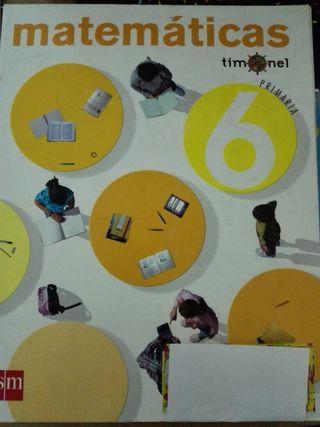 Libro Matemáticas 6° de Primaria