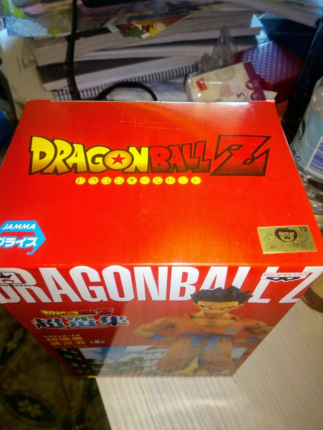 figura original banpresto yamcha dragon ball Z.