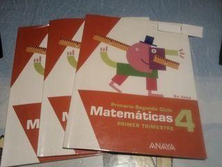 Matematicas 4°